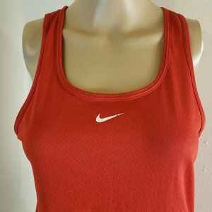Nike Women's Tank Top Red Size Small Running